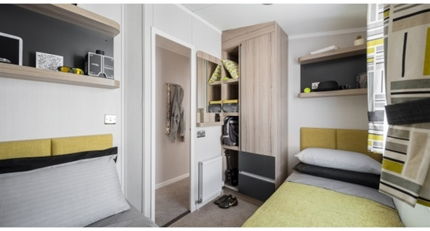 2017 Swift Alsace Twin Bedroom