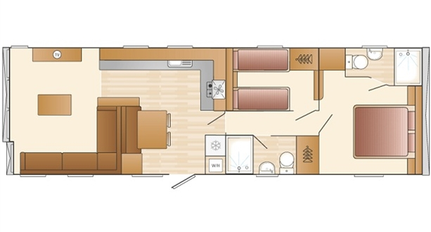 2017 Swift Antibes 2B Floorplan