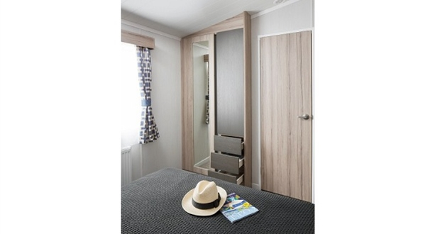 2017 Swift Antibes Main Bedroom Wardrobe